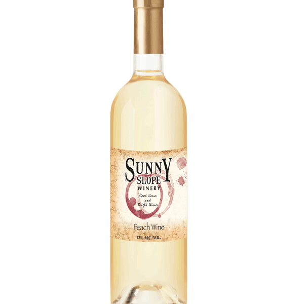 Sunny Slope Winery's Peach Wine